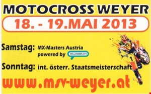 Motocross Staatsmeisterschaft Weyer