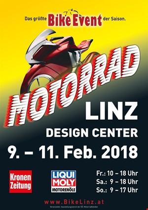 Motorrad LINZ - Messe Design Center von 9.-11.2.2018