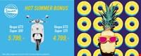 Hot Summer Bonus 2018 - Vespa GTS Super 300