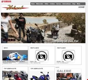 Yamaha-Hebart Webseite