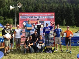 Enduro Trophy Rachau/Stmk. - Günter Schmidinger siegt auf HM Honda