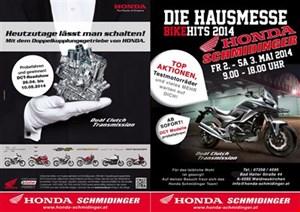 Honda DCT-Roadshow von 26.-10.05.2014