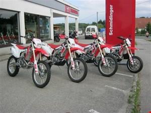 Offroad Aktion bei Honda Schmidinger auf alle HM Honda Enduro, Supermoto und MX Modelle