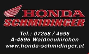 Betriebsurlaub Honda Schmidinger von 11. Juli bis 26. Juli 2015