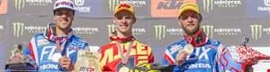 Tim Gajser ist MX2 Weltmeister auf HONDA! Paulin und Bobryshev Rang 2 und 3 in MX1 WM!