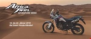 Africa Twin Adventure Week von 18. bis 22.1. bei Honda Schmidinger