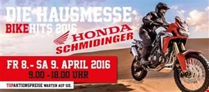 Hausmesse von Honda Schmidinger am 8. und 9. April 2016