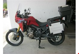 Honda Africa Twin in Aktion - Travelpaket inklusive!
