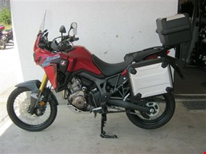 Honda Africa Twin in Aktion - Travelpaket inklusive!