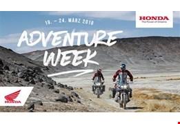 Adventure Week von 19.-23. März 2018 bei Honda Schmidinger
